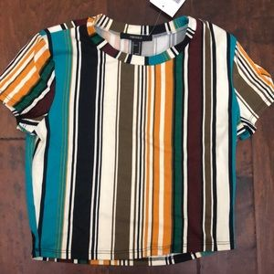 NWT striped top